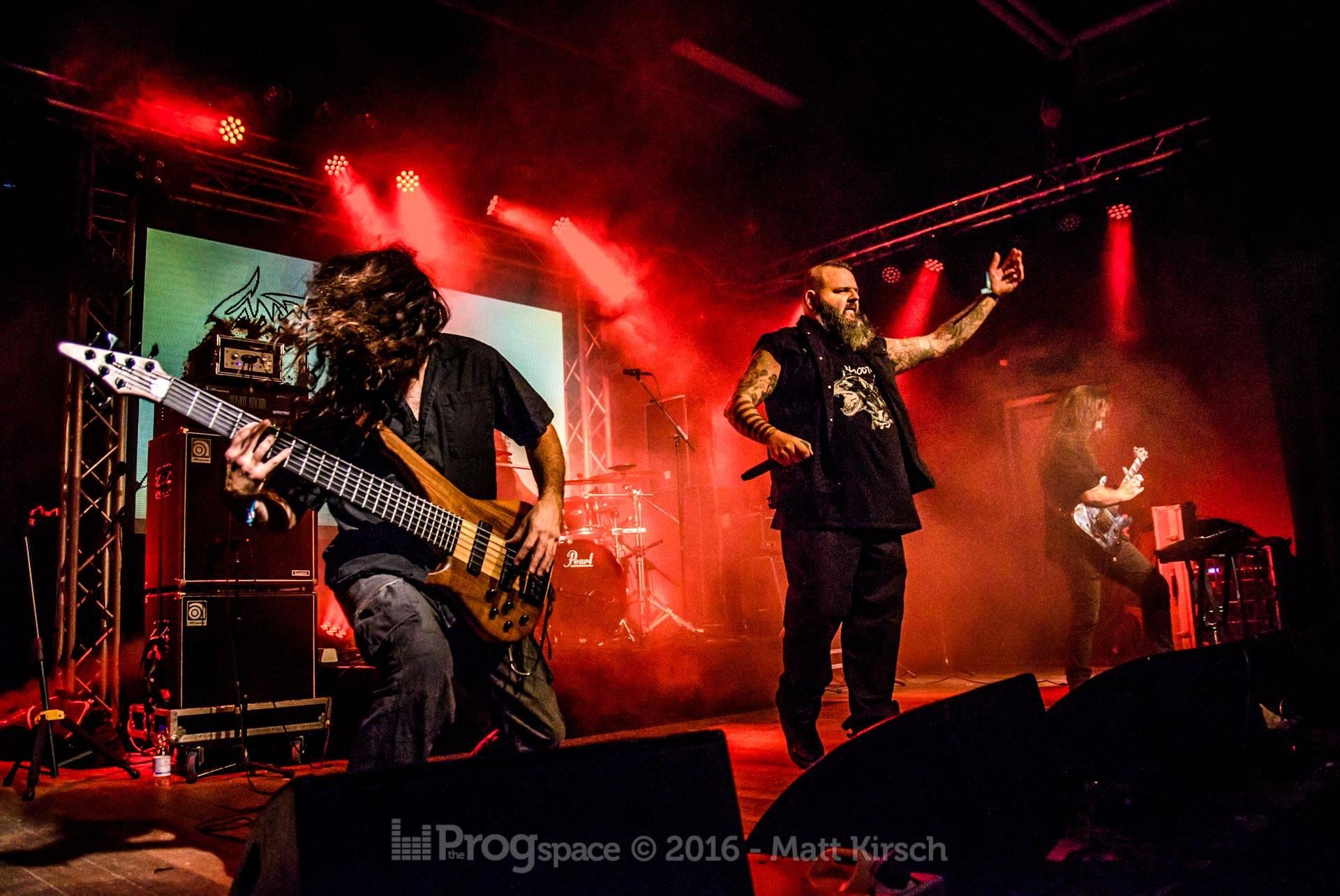 Sadist at ProgPower Europe 2016