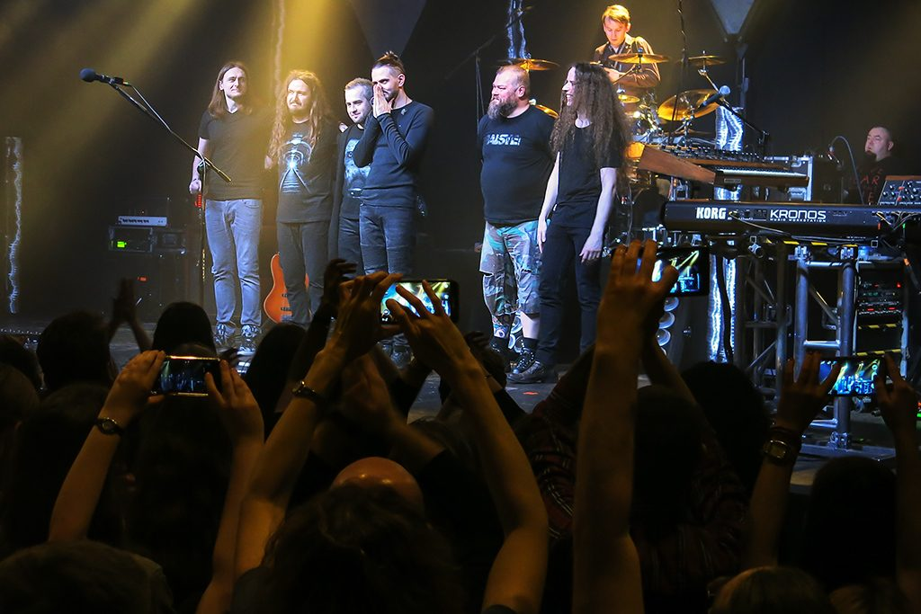 Riverside playing in Warsaw