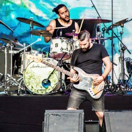 Jardin de la Croix playing at Be Prog! My Friend. 2017 festival, Barcelona