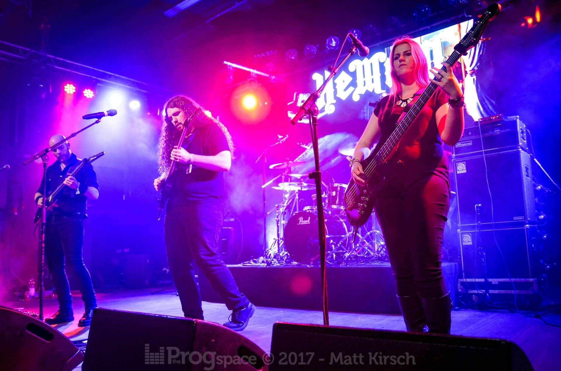Hemina at Progpower Europe 2017