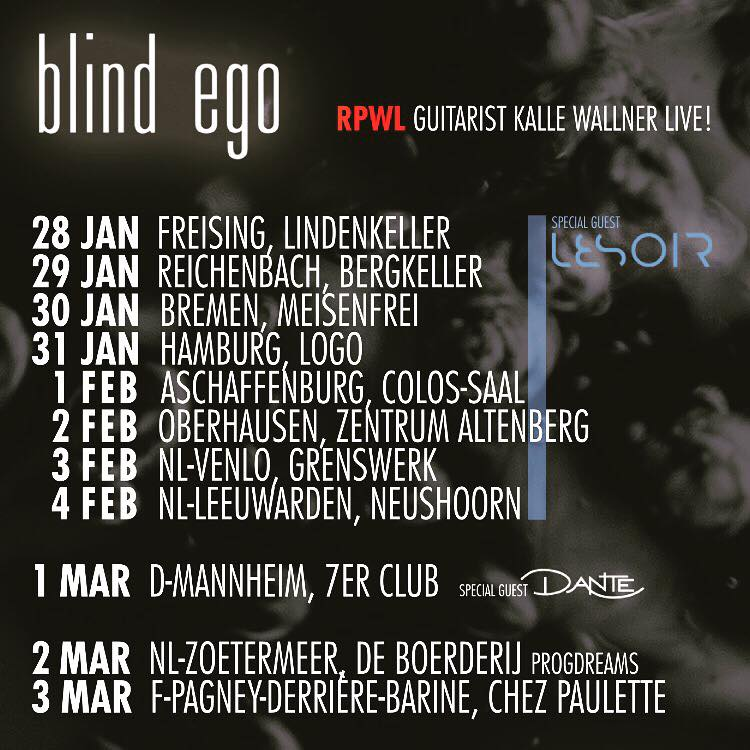 Blind Ego Tour 2018