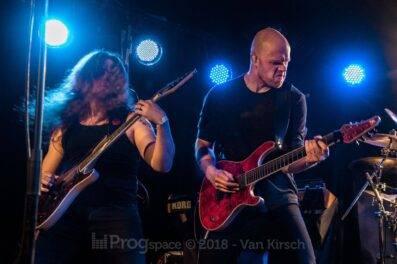 Oddland live in Hamburg, 6 April 2018