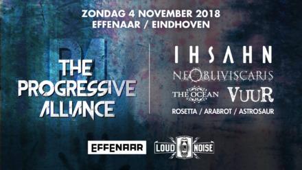 The Progressive Alliance, Eindhoven, NL. Sunday 4th of November 2018