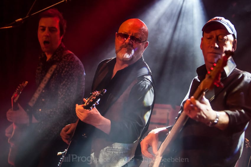 Wishbone Ash in Verviers, Belgium, January 10, 2019