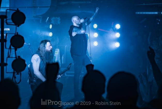 Soilwork live in Munich, January 30, 2019