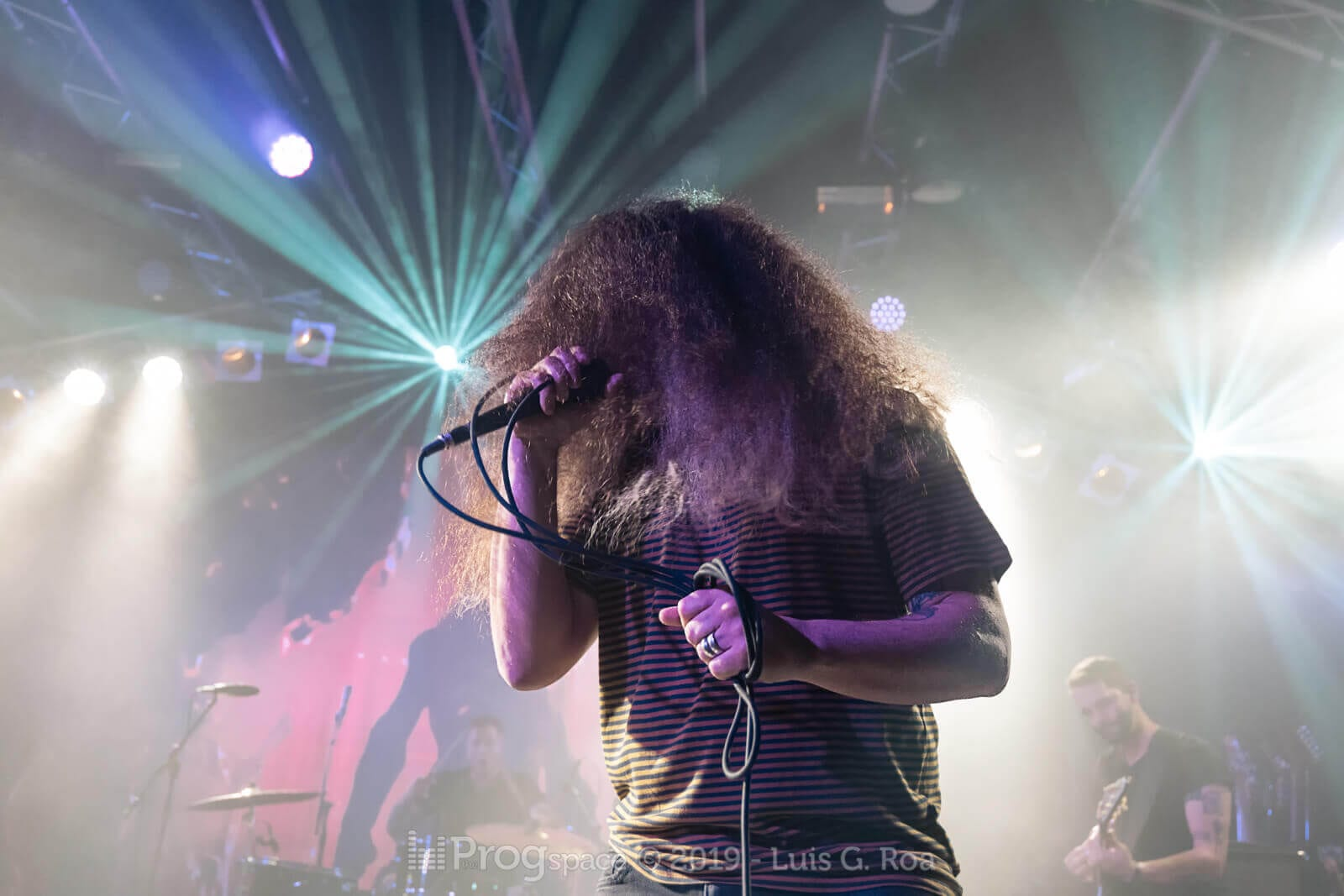 Coheed and Cambria live in Hamburg, 1 May 2019