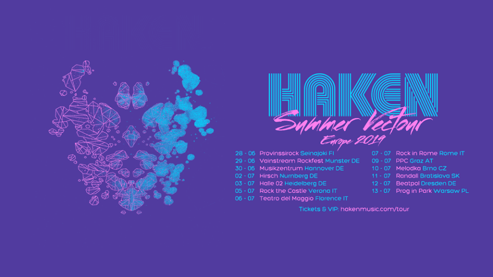 Haken Summer Vectour