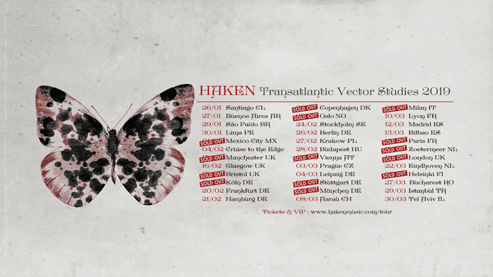 Transatlantic Vector Studies: Haken, Vola & Bent Knee/Ben Levin Group