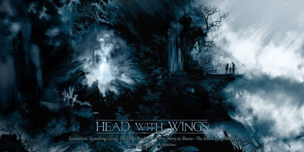 Head with Wings - Widescreencover