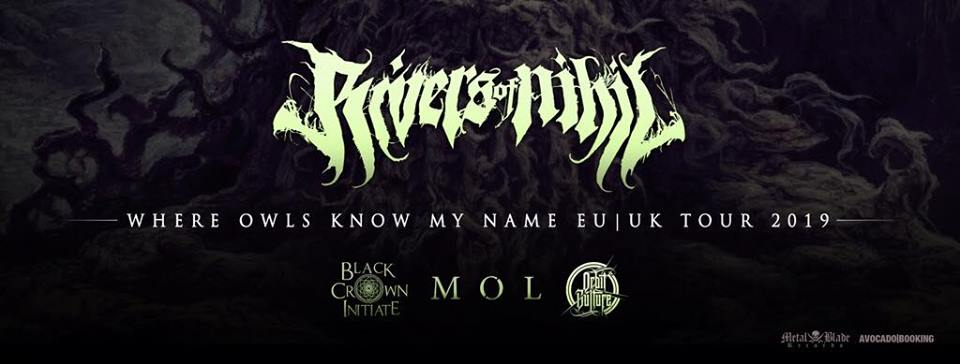 Rivers of Nihil, Mama Roux's Birmingham, 29 September 2019