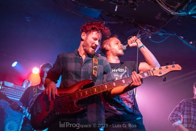 Odd Palace live at Euroblast 15, 28 September 2019