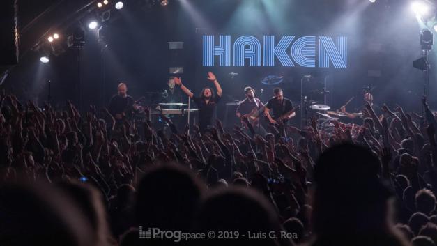 Haken live in Hamburg, 18 November 2019