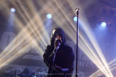 Sleep Token live at Euroblast 15, 28 September 2019