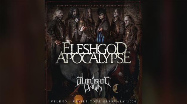 Live Report: Fleshgod Apocalypse at Rebellion Manchester, 16 February 2020