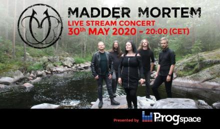 Madder Mortem Live-Streaming Concert