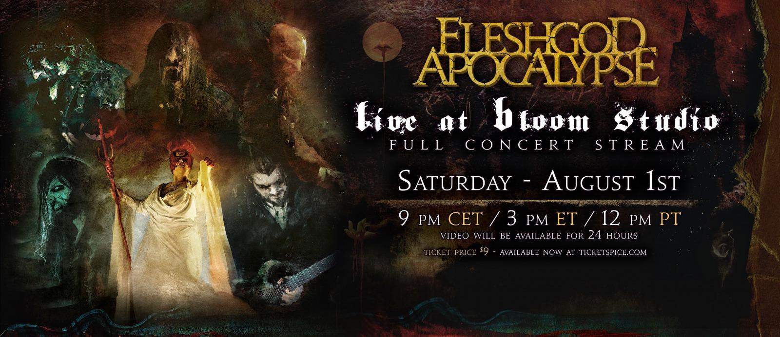 Fleshgod Apocalypse - Live at Bloom Studio