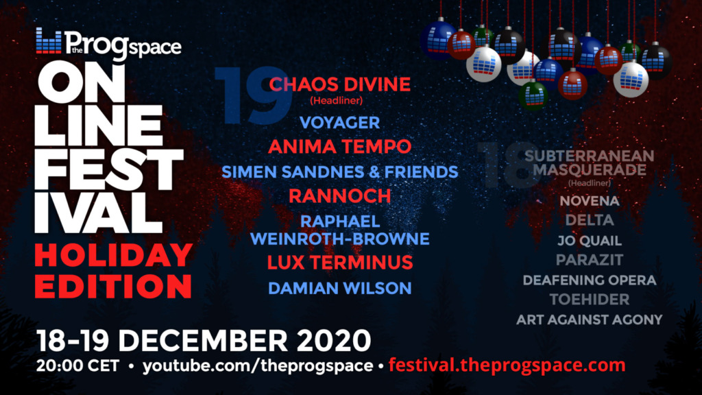 The Progspace Online Festival – Holiday Edition Day 2