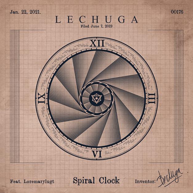 "Lechuga premieres ""Spiral Clock"""