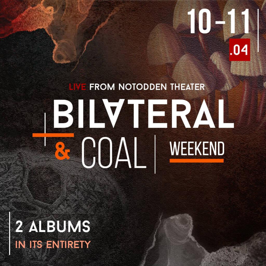 Leprous – Bilateral & Coal Weekend (Apr. 10 – 11)