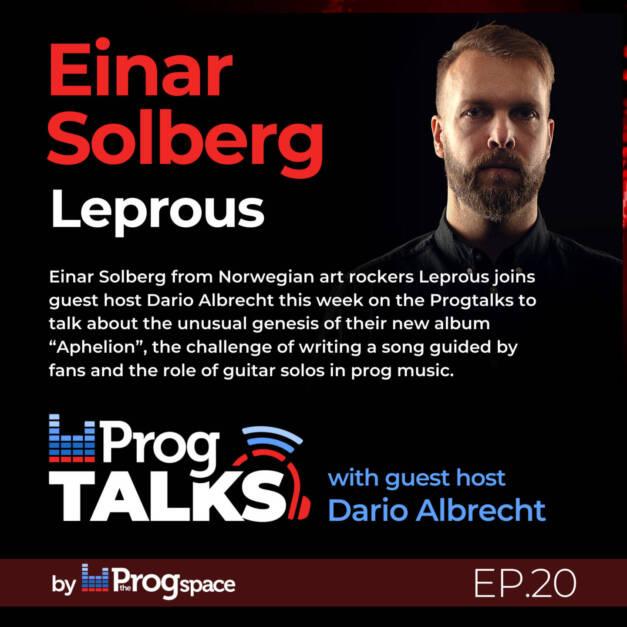 Progtalks Interviews Leprous – Ep. 20