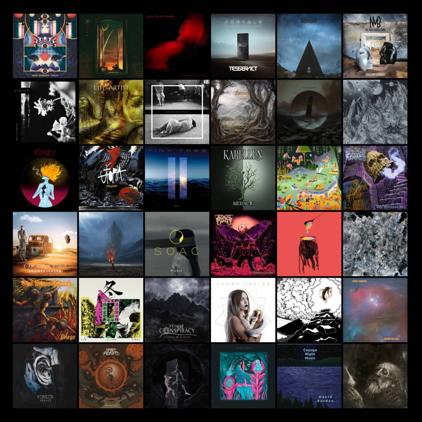 4 eclectic and diverse albums for your weekend