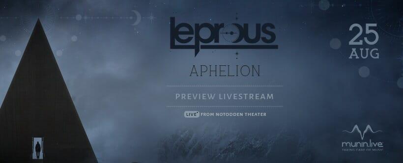 Leprous – Aphelion Preview Livestream